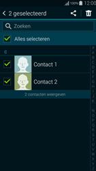 Samsung G850F Galaxy Alpha - Contactgegevens overzetten - delen via Bluetooth - Stap 7