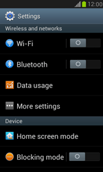 Samsung I8190 Galaxy S III Mini - Internet - Disable mobile data - Step 4