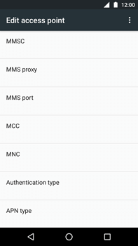 Motorola Moto Z Play - MMS - Manual configuration - Step 12