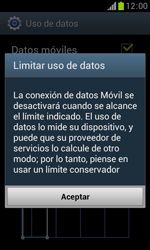 Samsung S7560 Galaxy Trend - Internet - Ver uso de datos - Paso 9