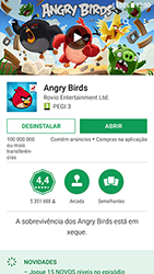 Samsung Galaxy A3 (2016) - Android Nougat - Aplicações - Como pesquisar e instalar aplicações -  18
