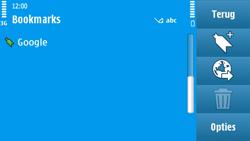 Nokia N97 - Internet - Internetten - Stap 9