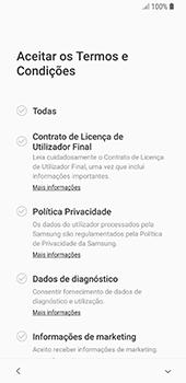 Samsung Galaxy S8 - Android Oreo - Primeiros passos - Como ligar o telemóvel pela primeira vez -  7