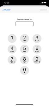 Apple iphone-xr-met-ios-13-model-a1984 - Beveiliging en ouderlijk toezicht - Hoe wijzig ik mijn SIM PIN-code - Stap 10