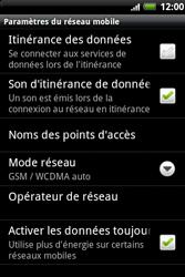 HTC A510e Wildfire S - MMS - configuration manuelle - Étape 7