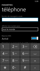 Nokia Lumia 830 - Messagerie vocale - configuration manuelle - Étape 8