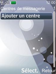 Nokia 7210 supernova - SMS - Configuration manuelle - Étape 7
