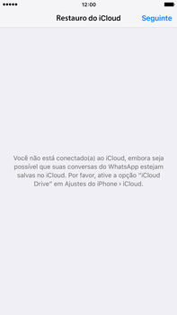 Apple iPhone 6s Plus - Aplicações - Como configurar o WhatsApp -  11