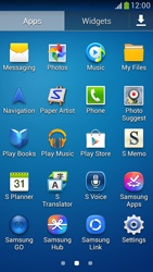 Samsung C105 Galaxy S IV Zoom LTE - Voicemail - Manual configuration - Step 3