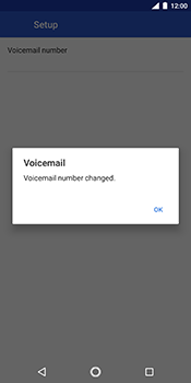 Nokia 7 Plus - Voicemail - Manual configuration - Step 11