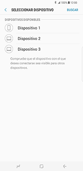 Samsung Galaxy S8 Plus - Bluetooth - Transferir archivos a través de Bluetooth - Paso 11