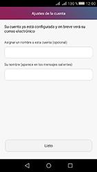 Huawei Y5 II - E-mail - Configurar Yahoo! - Paso 9