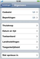 Apple iPhone 3G S - Probleem oplossen - Toestel resetten - Stap 4