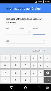 Sony Xperia XA1 Ultra - Applications - Créer un compte - Étape 8