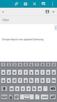 Samsung Galaxy Note 4 - E-mails - Envoyer un e-mail - Étape 5