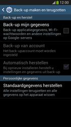 Samsung C105 Galaxy S IV Zoom LTE - Toestel reset - terugzetten naar fabrieksinstellingen - Stap 6