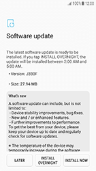 Samsung Galaxy J3 (2017) - Device - Software update - Step 8