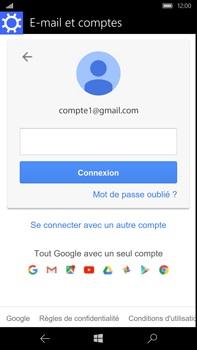 Microsoft Lumia 950 XL - E-mail - Configurer l