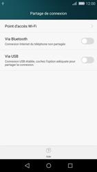 Huawei P8 Lite - Internet et connexion - Utiliser le mode modem par USB - Étape 6