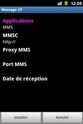 Samsung S5830i Galaxy Ace i - MMS - configuration automatique - Étape 8