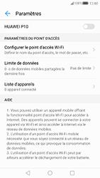 Huawei P10 - Internet et connexion - Partager votre connexion en Wi-Fi - Étape 9