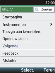 Nokia C2-05 - Internet - hoe te internetten - Stap 16