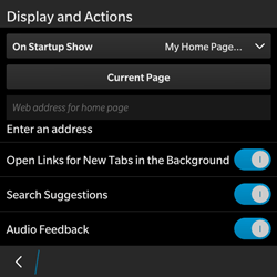 BlackBerry Classic - Internet - Manual configuration - Step 18
