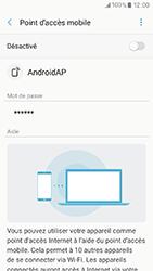 Samsung Galaxy A3 (2017) (A320) - Internet et connexion - Partager votre connexion en Wi-Fi - Étape 11