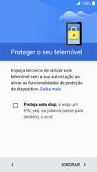 Alcatel Idol 4 VR - Primeiros passos - Como ligar o telemóvel pela primeira vez -  14