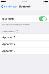 Apple iPhone 4S iOS 9 - Bluetooth - headset, carkit verbinding - Stap 5