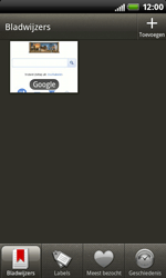 HTC S510b Rhyme - Internet - Internetten - Stap 9