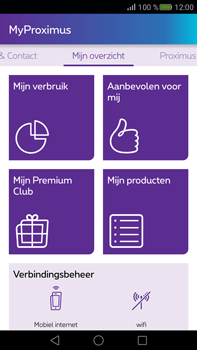 Huawei Mate S - Applicaties - MyProximus - Stap 12