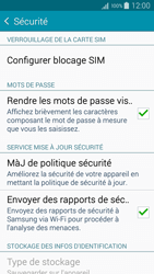 Samsung Galaxy A3 (A300FU) - Sécuriser votre mobile - Personnaliser le code PIN de votre carte SIM - Étape 5