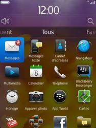 BlackBerry 9810 Torch - Paramètres - Reçus par SMS - Étape 9