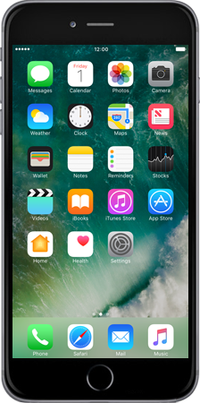 Apple Apple iPhone 6 Plus iOS 10 - iOS features - iOS 10 Feature list - Step 1