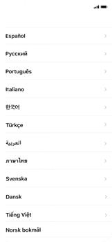 Apple iPhone X - Primeros pasos - Activar el equipo - Paso 7