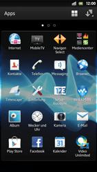 Sony Xperia S - Apps - Twitter einrichten - Schritt 3