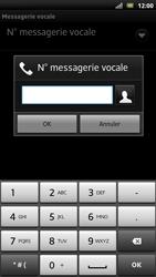 Sony LT22i Xperia P - Messagerie vocale - Configuration manuelle - Étape 7