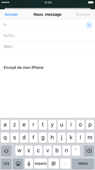 Apple Apple iPhone 6 Plus iOS 10 - E-mail - Envoi d