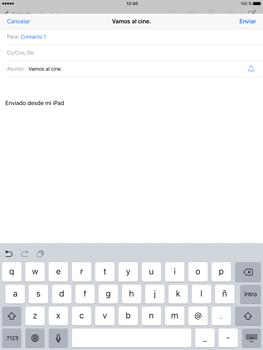 Apple iPad Pro 9.7 - E-mail - Escribir y enviar un correo electrónico - Paso 7