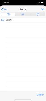 Apple iPhone XS Max - iOS 13 - Internet - navigation sur Internet - Étape 9