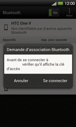 HTC T320e One V - Bluetooth - Jumeler avec un appareil - Étape 8