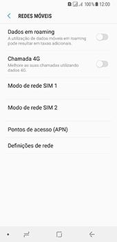 Samsung Galaxy A8 (2018) - MMS - Como configurar MMS -  6