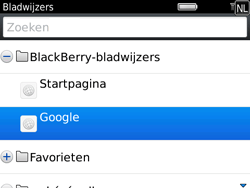 BlackBerry 9780 Bold - Internet - hoe te internetten - Stap 7