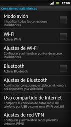 Sony Xperia U - WiFi - Conectarse a una red WiFi - Paso 5