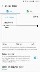 Samsung Galaxy J2 Prime - Rede móvel - Como definir um aviso e limite de uso de dados - Etapa 8