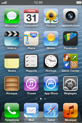 Apple iPhone 4 - iOS 6 - E-mail - envoyer un e-mail - Étape 1