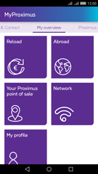 Huawei Y6 II - Applications - MyProximus - Step 15