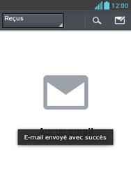 LG E430 Optimus L3 II - E-mail - envoyer un e-mail - Étape 15