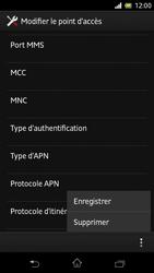 Sony C5503 Xperia ZR - Internet - Configuration manuelle - Étape 17